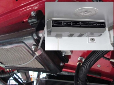 Кондиционер для а/м КАМАЗ 9 кВт (в салон) + 3 кВт (накладной в кабину)