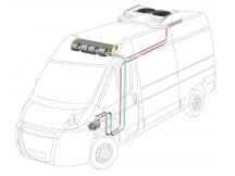 Сплит-система с крышным конденсором