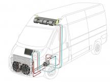 Автокондиционеры с передним расположением конденсора