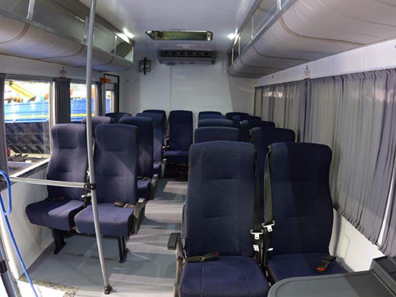Готовые решения для вахтовых автобусов на базе КАМАЗ