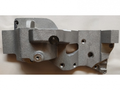 Комплект кронштейна компрессора на Peugeot Expert с двс DW10 2.0Нdi