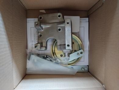 Комплект кронштейна компрессора на а/м Газон Next с дв. ЯМЗ 5344-10 Euro4